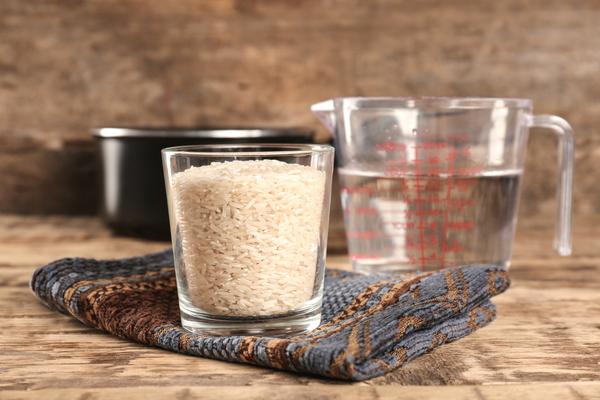 bicchiere di riso