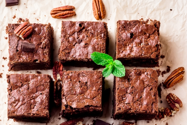 brownies senza zucchero