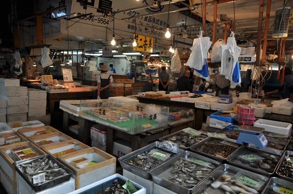 mercato pesce giappone