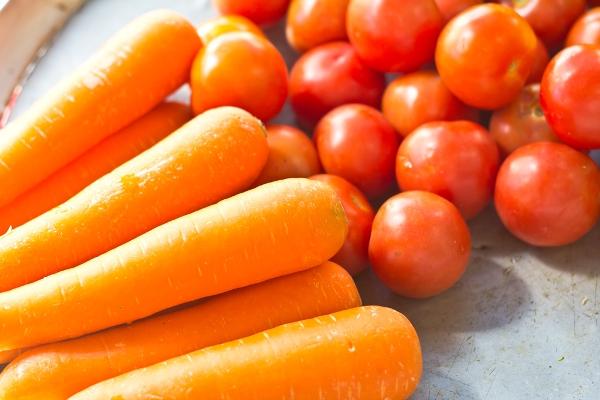 pomodoro carote dieta lemme