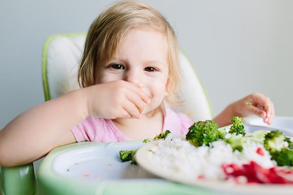Bambini verdure