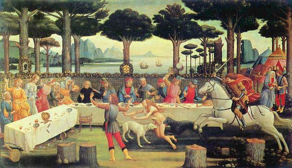 botticelli cibo
