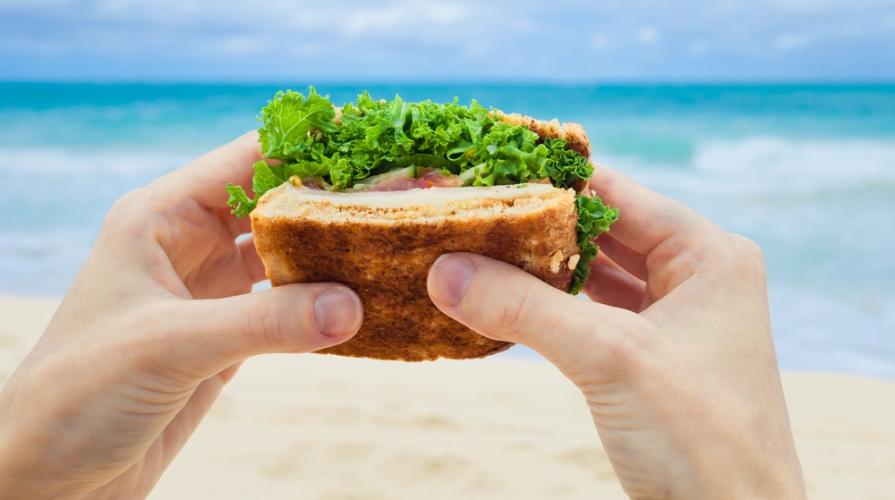 Pranzo Veloce E Sano Per Bambini : Cibi da spiaggia cosa mangiare al mare