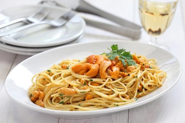 spaghetti ricci di mare capri