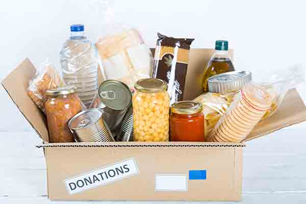 Donazioni cibo