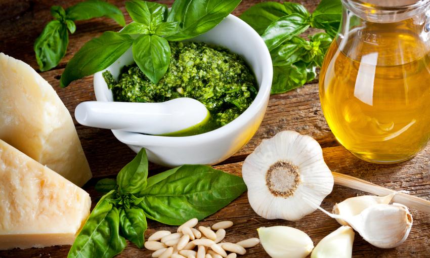 Pesto ingredienti
