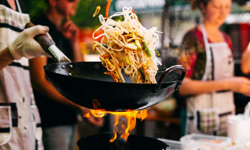 wok fiamma alta