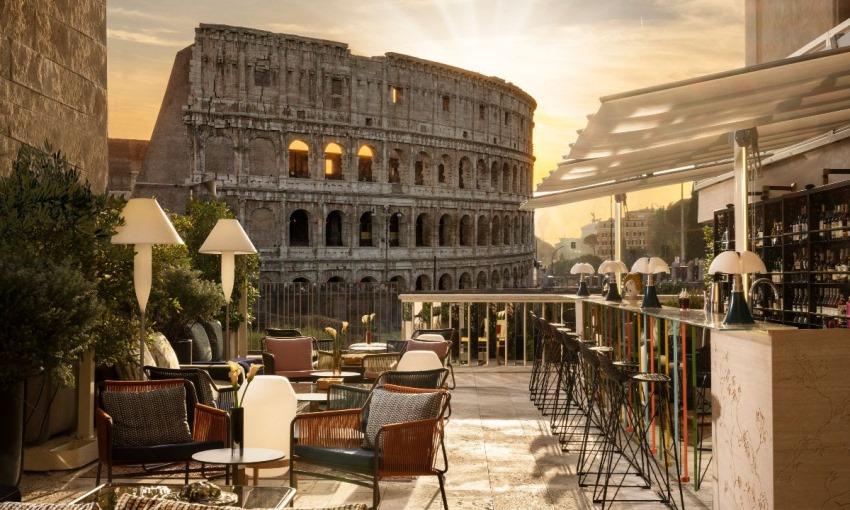 aroma palazzo manfredi roma