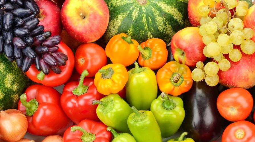 i colori della frutta