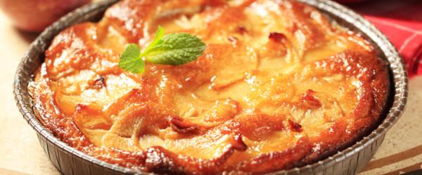 torta di mele al grano saraceno