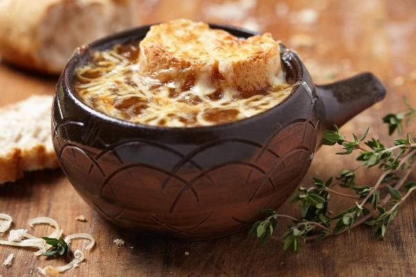 soupe à l'onion