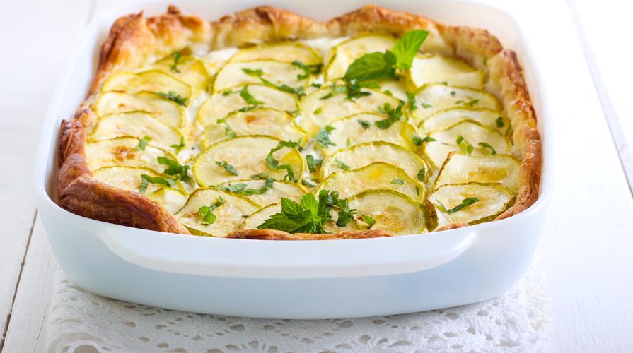 crostata di zucchine e patate