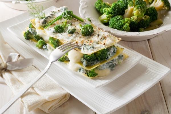 lasagne broccoli