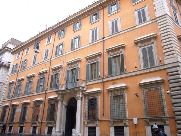 palazzo giustiniani