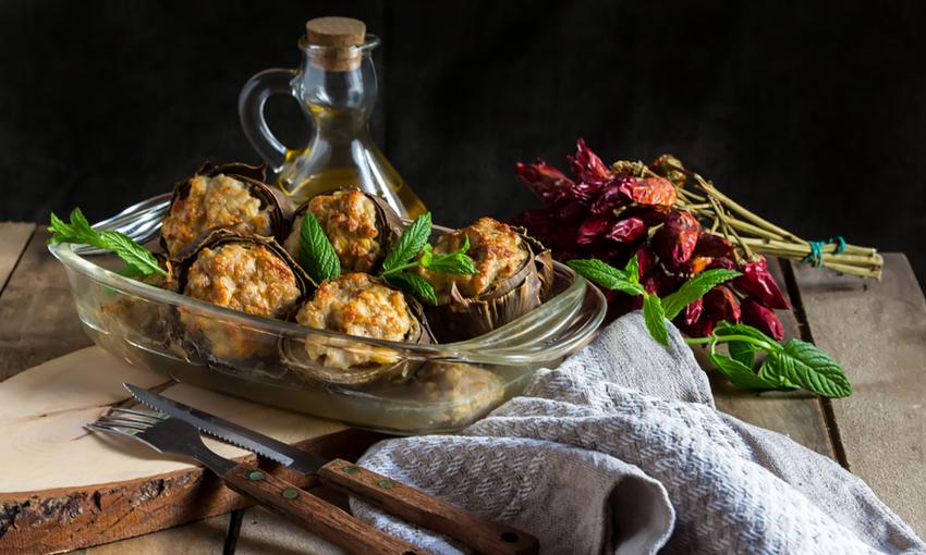 ricetta carciofi al forno