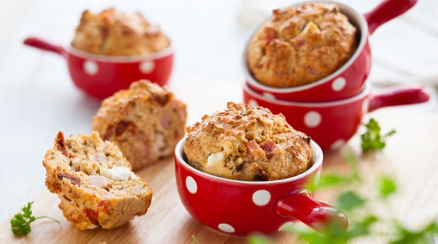 muffin pomodori secchi