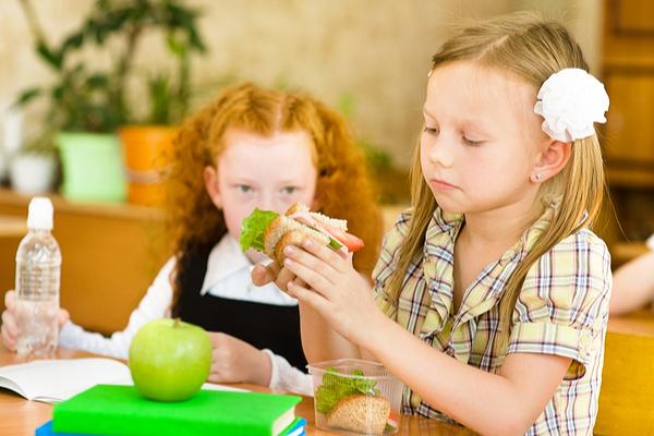 mensa scuola panino