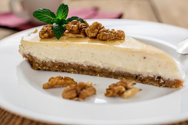 cheesecake noci