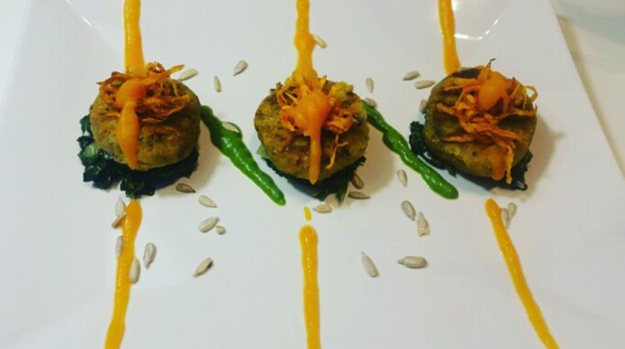 medaglioni di lenticchie