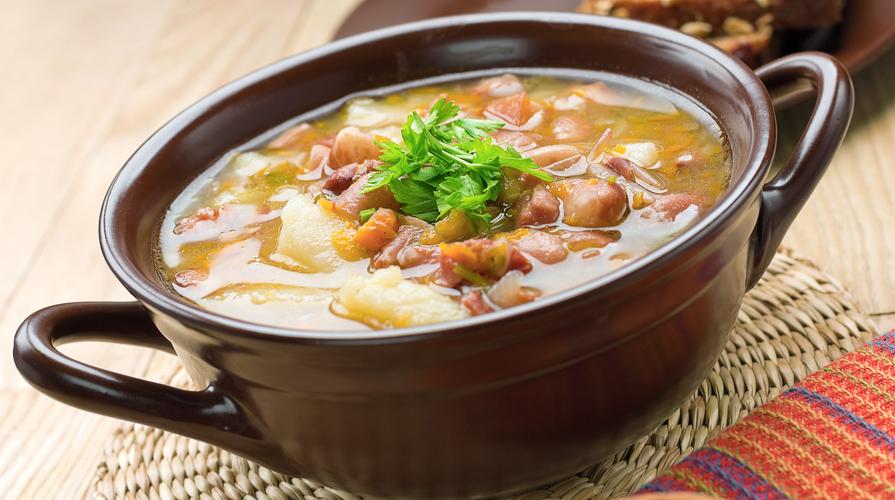 zuppa di fagioli coco