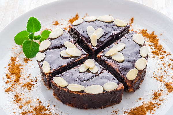 Torta cioccolato mandorle