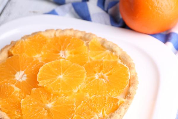 crostata arancia e mascarpone
