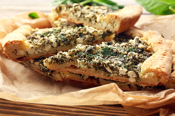 crostata spinaci e ricotta