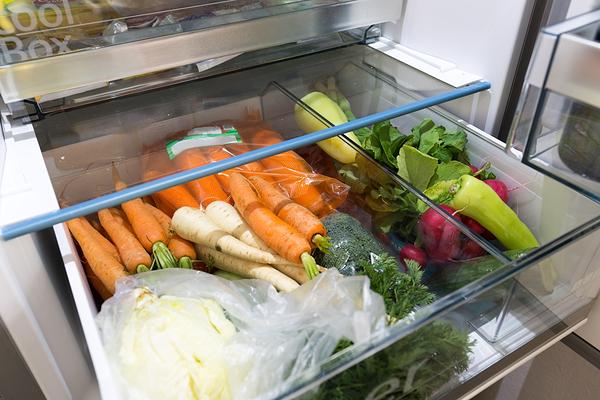 conservare le carote