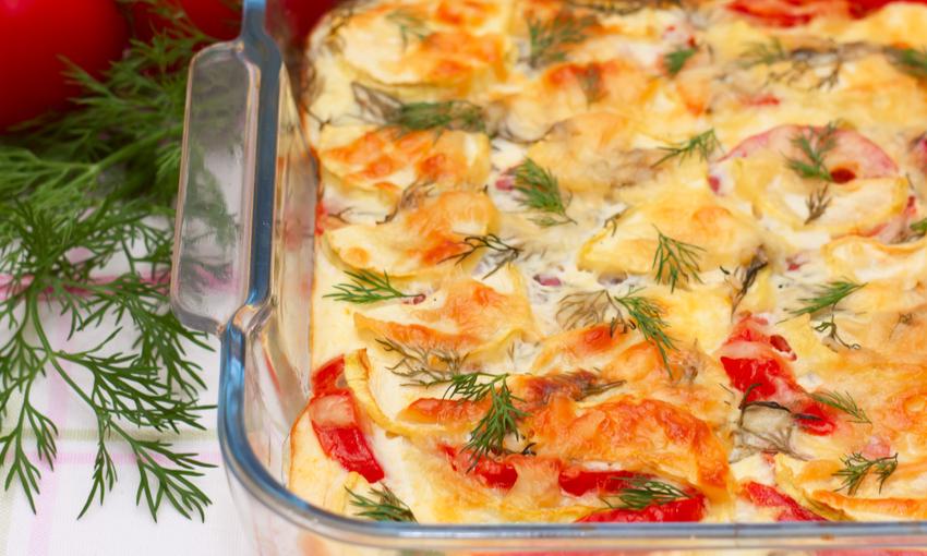 finocchi al forno con la mozzarella