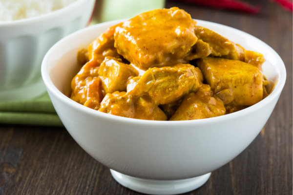 curry pollo