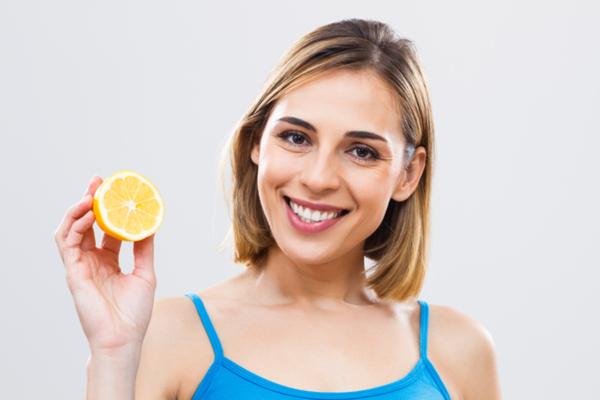 acqua e limone pelle