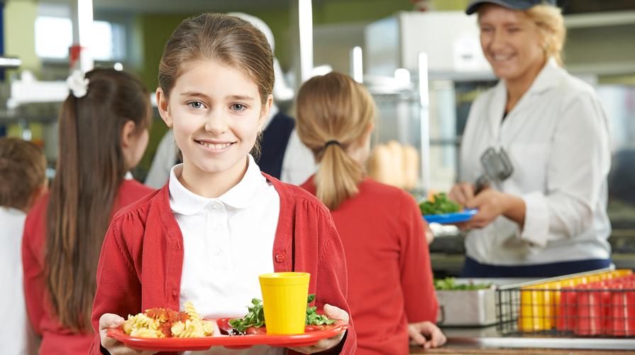 pasto a scuola