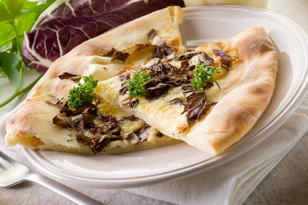 pizza radicchio