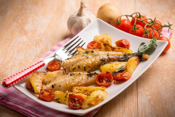 raqna pescatrice con patate