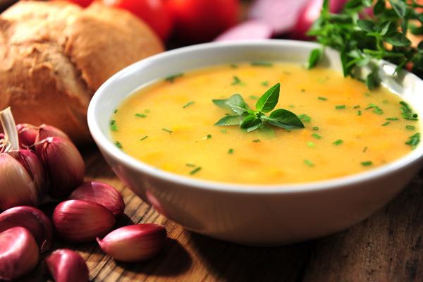 Zuppa zucca porro