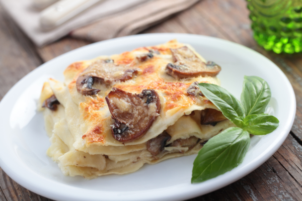 lasagne funghi