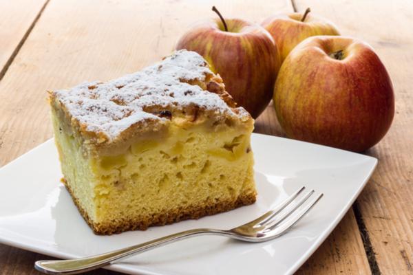 torta di mele e mandarini