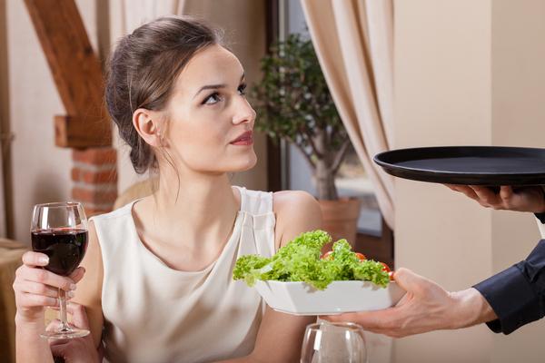 cosa non fare in un ristorante