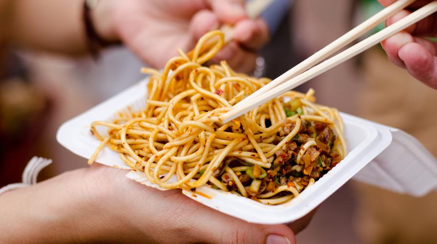 Street food vegano