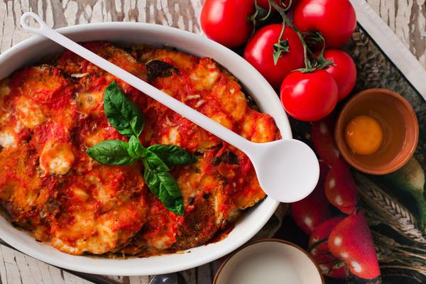 parmigiana senza formaggio