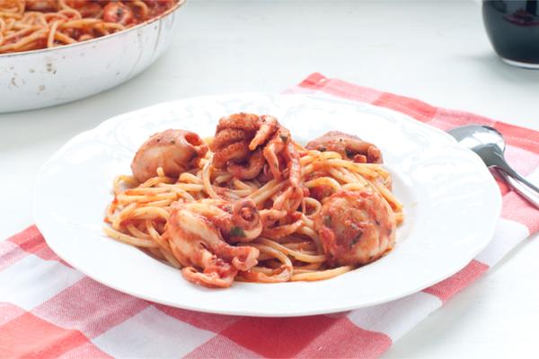 Ricette con il polpo 10 varianti golose for Marchi di pasta da non mangiare
