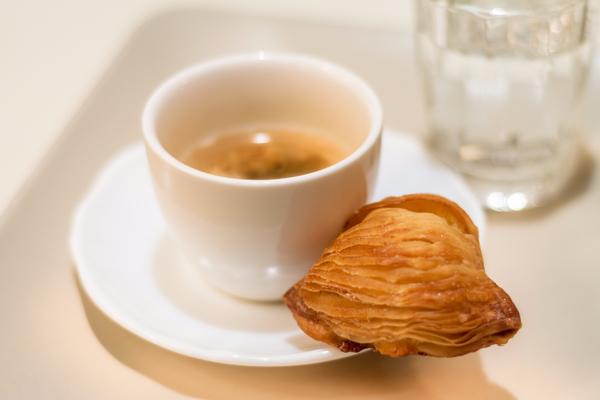 sfogliatella e caffè
