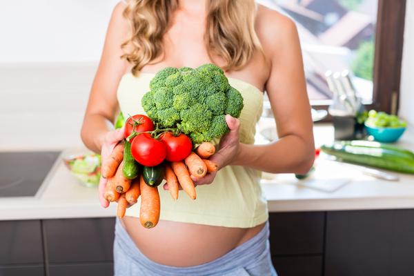 verdure gravidanza