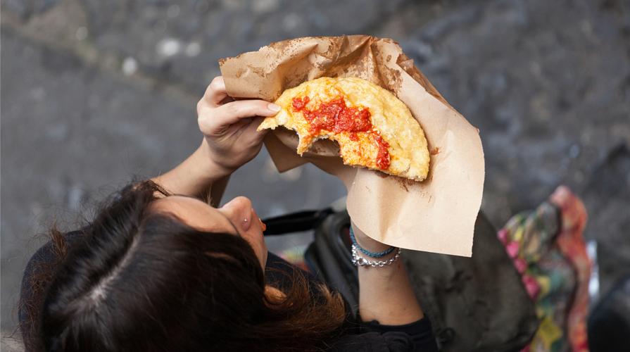 pizza fritta napoli