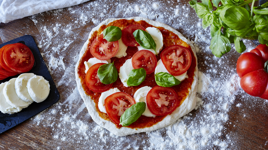 lievitazione pizza