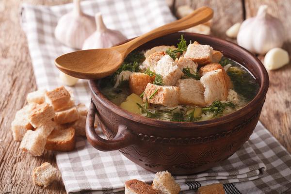 crostini per zuppa