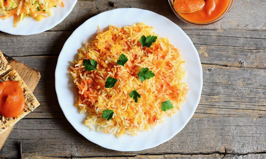 riso basmati curry