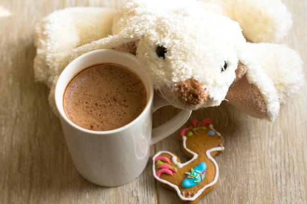 Colazione latte cacao