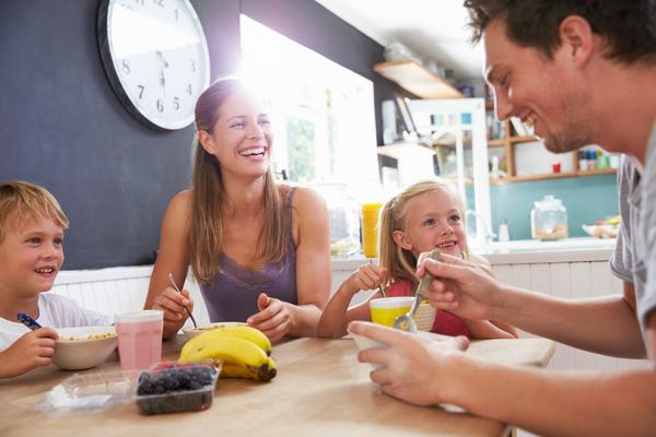 Colazione abitudini familiari