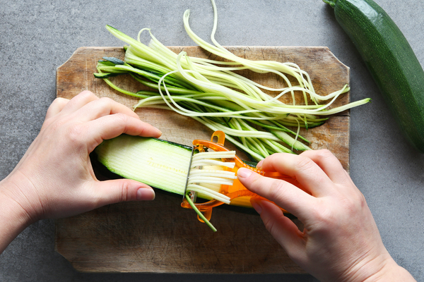 julienne zucchine